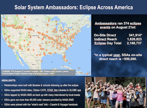 Solar System Ambassadors: News & Nuggets: Every week, the